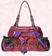 Bag from House of Fraser -Multi-coloured �Butterfly� bag �310 Bracher Emden.