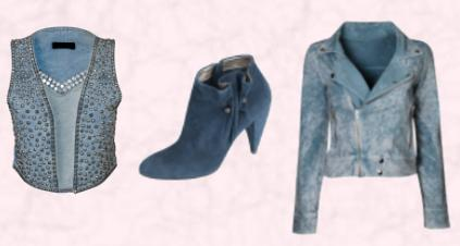 Studded denim waistcoat �75 Miss Selfridge Autumn/Winter 2009.  Marks & Spencer Autumn Winter 2009 Accessories Ankle Boot, �55. Denim jacket with zip from �35 Miss Selfridge Autumn/Winter 2009.
