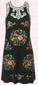 French Connection Embroidered Dress - AW09/10