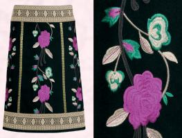 Monsoon Akira Skirt �75/�127 Eire - Monsoon Christmas 2009 - October - Daywear.