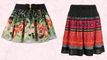 Yumi border printed skirt �35 Very AW09. Monsoon Multi Babette Skirt �75/�127 Eire Monsoon Autumn/Winter 2009.