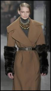 Donna Karan camel coat Autumn 2009 on Fashion-era.com