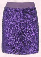 Marks & Spencer Limited Collection Purple Sequin Skirt �45.