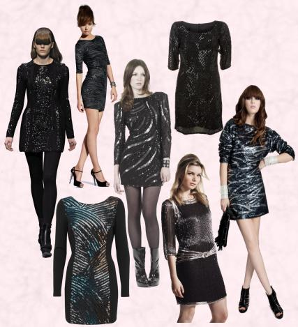 Size Party Dress on Dress  Bottom Left   Marks   Spencers Limited Collection Sequin Dress