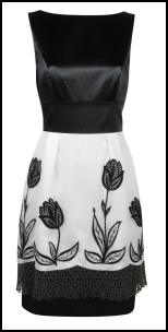 Monsoon Spring/Summer 2009 - Originals Adlyn Black and White Dress £160 / €271.