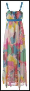 Colours of Spring 2009 in Stills Maxi Dress.