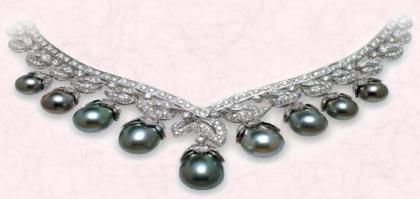 Black Pearl South Sea Necklace - Jewels of Ocean