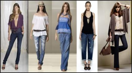 Denim jeans in all styles - Spring 2009