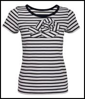 Phase Eight Spring Summer 2009 Stripe Flower Nautical T Shirt £35.