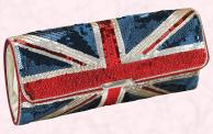 Union Jack Sequin Clutch Bag - Spring/Summer 2009 Women's Accessories Bags -  Debenhams Star by Julien Macdonald.