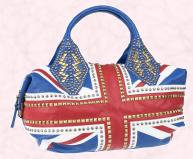 Union Jack Oversized Tote £150.00 - SS09 WW Hero Pieces at River Island Clothing Co. Ltd.