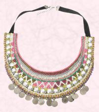 Tribal decoration Bib Necklace from Accessorize Spring Summer 2009 Fashion Collection.