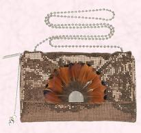 Feather trimmed bag - House of Fraser