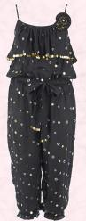 This black star print jumpsuit �29.99 is from River Island Clothing Co. Ltd from SS09 WW Hero Pieces.