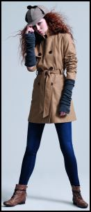 River Island AW10 Winter Wrap Camel Coat