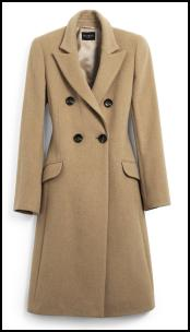 Camel British Warm Style Women's Coats