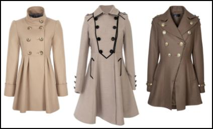 Fuller Skirted Women's Coats