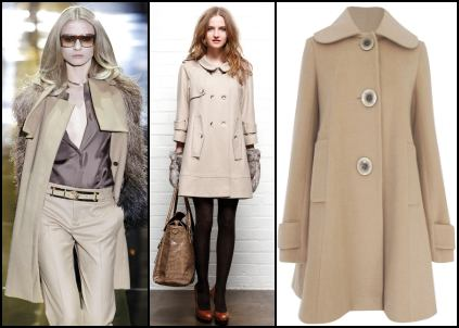 Womens Camel Coats and Jackets | Review Winter Fashion 2010/11