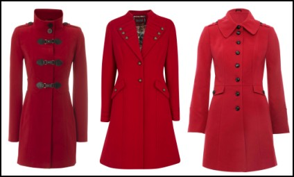 Red Winter Coats and Jackets | Women's Fashion 2010