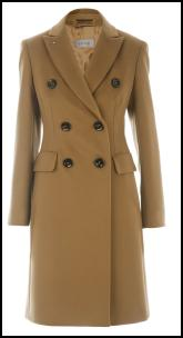 Sportmax Camel British Warm Women's Coats