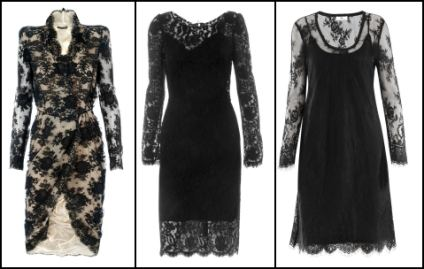 Dolce & Gabbana - Black Lace Dress