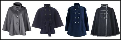 Military Fashion capes