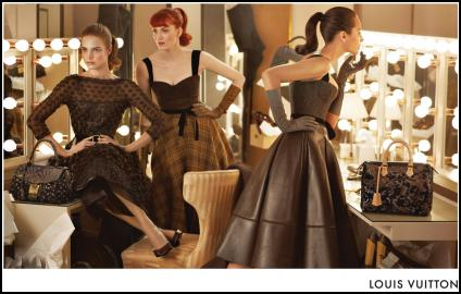 Louis Vuitton Womanly Mad Men Dresses - Fall 2010