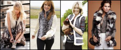 Petite Sizes - Gilets from NEXT, CC, Wallis and Dash.