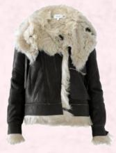 Shearling Leather Jacket - Pringle