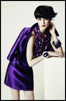 Purple Dress and Jacket from Hobbs.