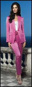Elégance Pink Trouser Suit - Occasion and Wedding Dressing.