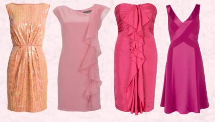 Bridesmaids and Guests - Occasion Pink Dresses