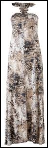 Budget Buy Maxi Dress - �19.99 - Animal print maxi dress Internacionale