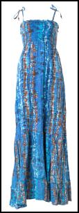 Blues Tiered Print Maxi Dress �19.99.