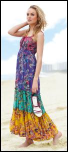 Wallis Multicoloured Tiered Maxi �55.