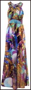Yogoego.com CHILLI PEPPER Embellished Silk Maxi Dress �115 Womenswear SS/10.