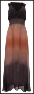 Grecian Boho Holiday Dip Dye Eveningwear Maxi Dress �45 - M&Co