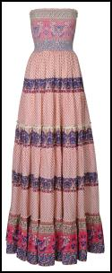 Miss Selfridge - Tiered Bud Maxi Dress �45/�70.