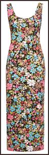 Floral Maxi Dress £20 - Boohoo.com SS10 Boohoo Dresses.