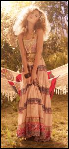 Miss Selfridge - Tiered Bud Maxi Dress £45/€70.