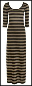 Stripe Jersey Maxi Dress �35 - Available in store Mid of July 2010 BHS