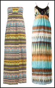 DVF - Farrin Dress - �430. Print Crushed Maxi Dress �24.99 - Internacionale.