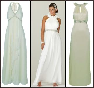 Summer Dress on White Halterneck Dress   Different Dresses