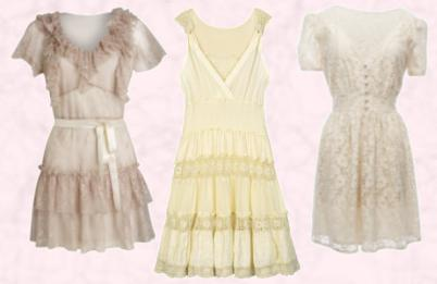 Baby Doll Dress Oli Dress Cat.No: 24C938WB9 �65.00 - Oli. Simply Be - Ivory Crochet Dress �60. Rose Lace Dress �17 in stores now from the Penneys Collections for Spring and Summer 2010.