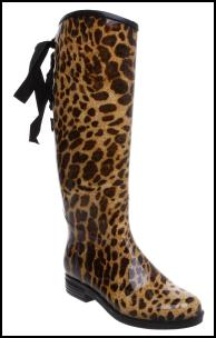 Animal Print Wellington Boots For AW11/12