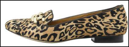 Leopard Print Flat Shoes Footwear for Winter 2011/12