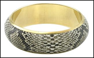 River Island AW11 - Snakeskin Effect Bangle