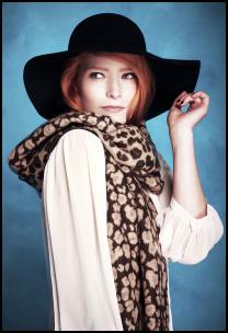 Animal Print Scarf for Winter 2011/12