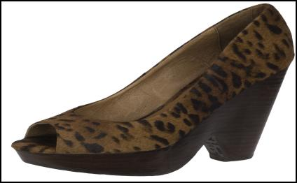Animal Print Leopard Wedges for Winter 2011/12