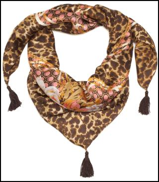 Animal Print Scarf for AW11/12